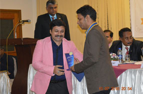 AWARD RECEIVING